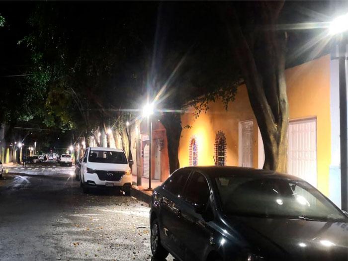 Luminarias. Alcaldía Miguel Hidalgo